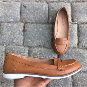 Faux Leather Loafers NWT